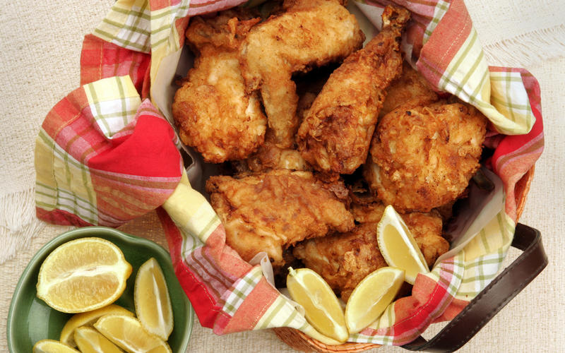 Recipe: Buttermilk fried chicken - California Cookbook