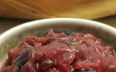 Warm fig salsa