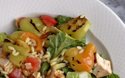 Hungarian pepper salad