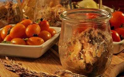 Lamb rillettes