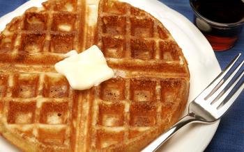 Jacqueline Kennedy's waffles