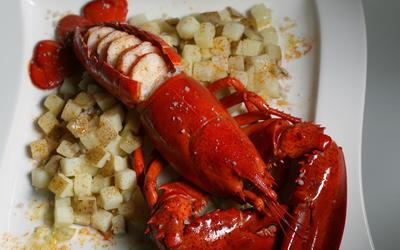 Bogavante a la gallega (Galician lobster)