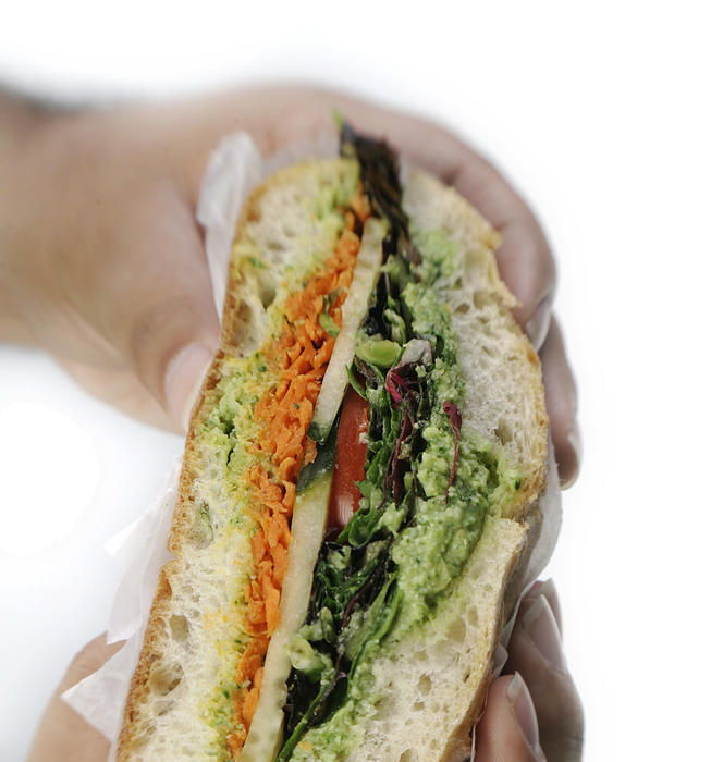 Edamame sandwich