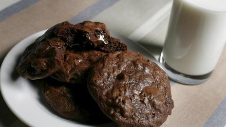 Milk's ooey-gooey double-chocolate cookies