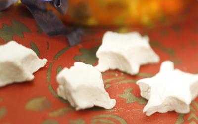 Cinnamon marshmallow stars
