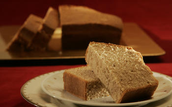 William H. Harrison's poundcake, 1841