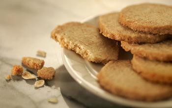 Oat shortbread