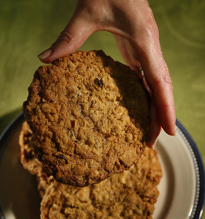 Auntie Em's Kitchen oatmeal raisin cookies