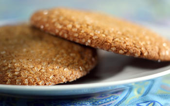 Model Bakery's molasses ginger cookies