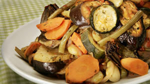 Tourlou-tourlou (Greek baked vegetables)