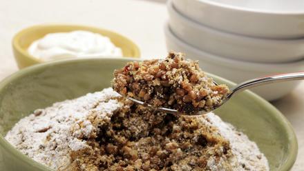 Koliva (Greek wheat berry dessert)