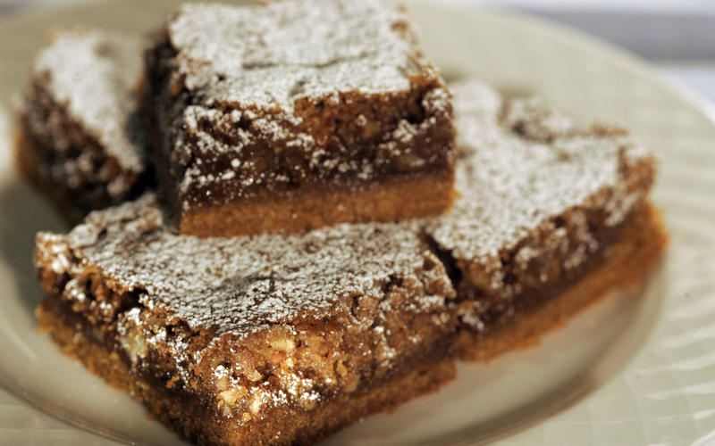 Graham cracker chewy bars