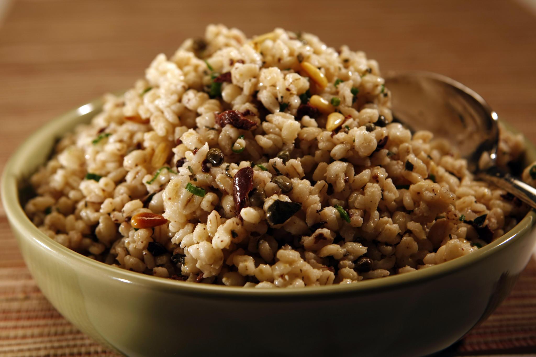 Recipe: Mediterranean barley salad - California Cookbook