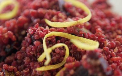 M Cafe's scarlet quinoa salad