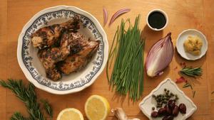 Mediterranean balsamic chicken