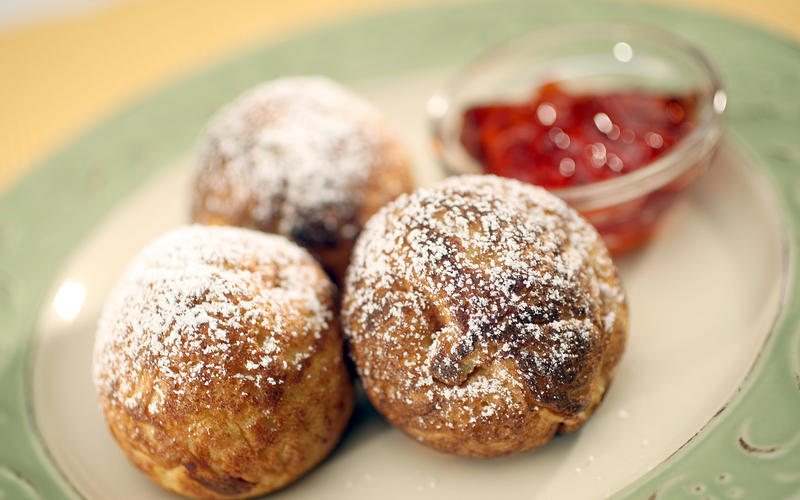 Grandmother's aebleskivers
