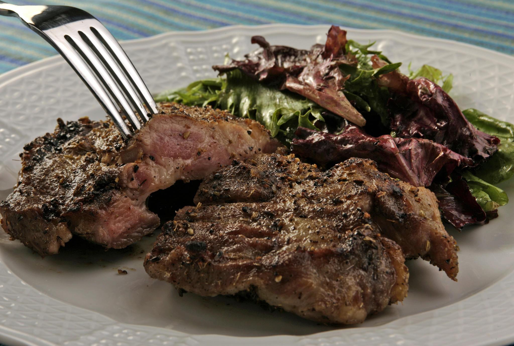Recipe Grilled Pork Steaks With Fennel California Cookbook