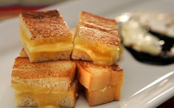 Street's Kaya toast plate