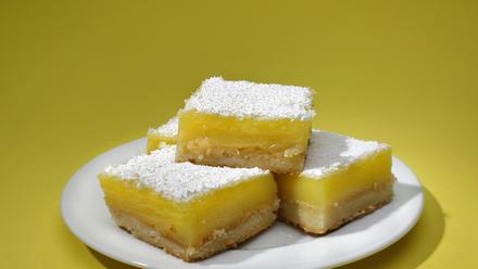 Euro Pane's lemon squares