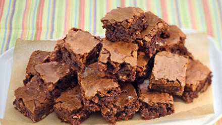 Boudin Bakery's brownies