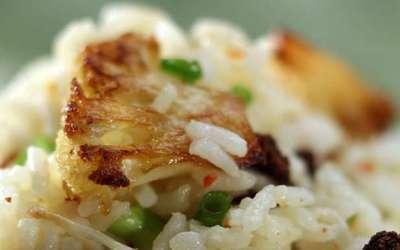 Ad Hoc's rice with roasted cauliflower