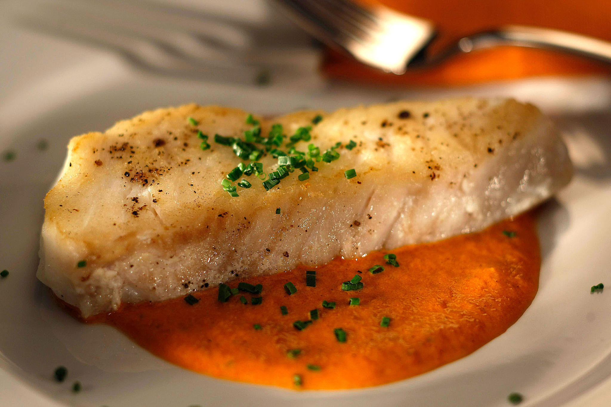 Recipe pan fried fish fillet with rouille california for Pan fried fish fillet recipes