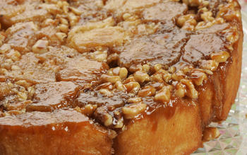 Cinnamon walnut monkey bread