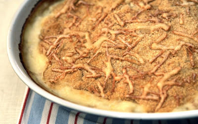Cauliflower and potato gratin