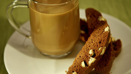 Emily's chocolate mandel bread