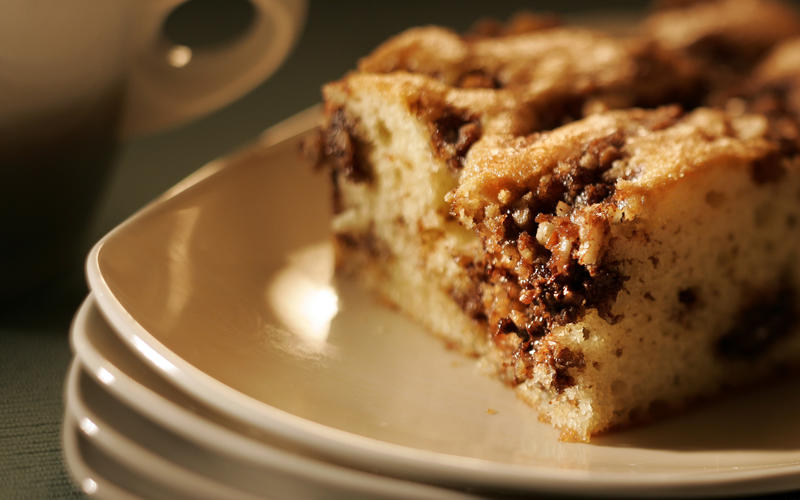 Heirloom Bakery and Cafe's sour cream coffeecake