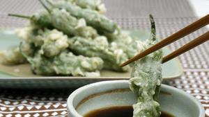 Shishito peppers tempura
