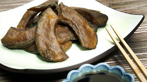 Kabocha squash kimpura