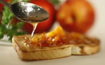 Perfumed nectarine jam