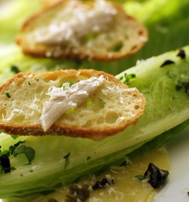 American Fish's Caesar salad