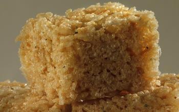 Rosemary marshmallow squares