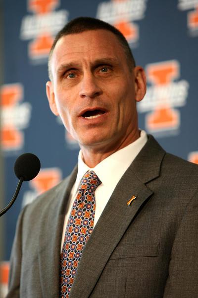 Illinois Athletics Director Mike Thomas.