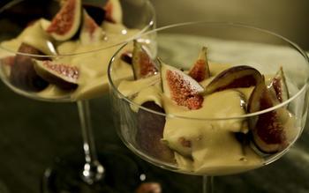 Hazelnut sherry zabaglione
