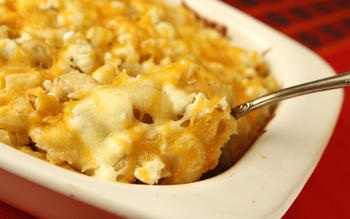 Queen and Diva's mac 'n' cheese