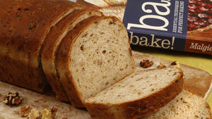 Gruyere and walnut bread