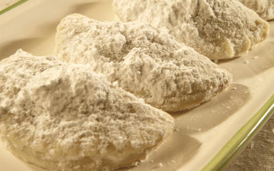 Nana's Russian tea cookies