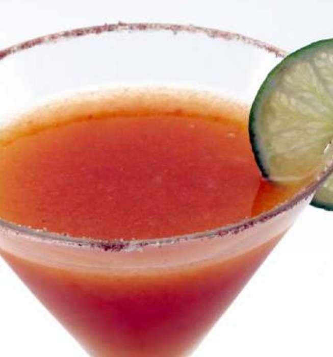 Recipe: Persimmon margarita - California Cookbook