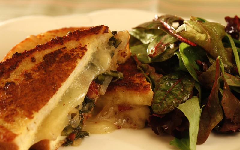 Savory stuffed French toast