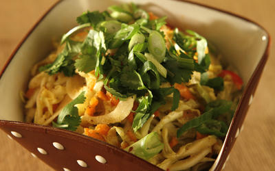 Mustards Grill's curried slaw