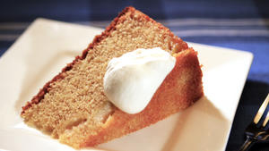 Huckleberry's whole-wheat apple butter cake