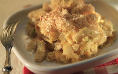 Famous Dave's mac 'n' cheese