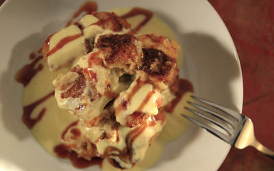 Pete's bread pudding