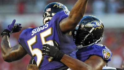 Random Ravens observations from Thursday night's win over Tampa…