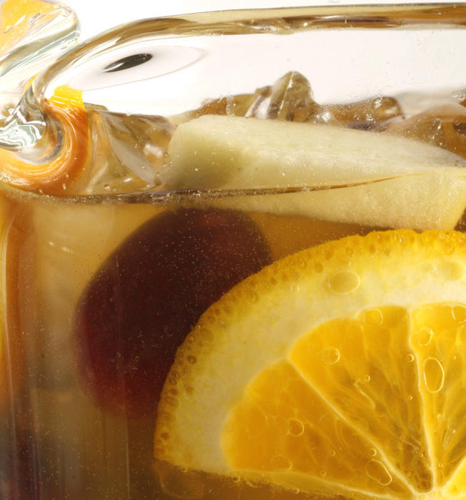 La Grande Orange Cafe's white sangria