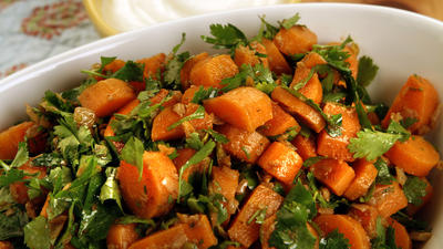 Spicy Moroccan carrot salad