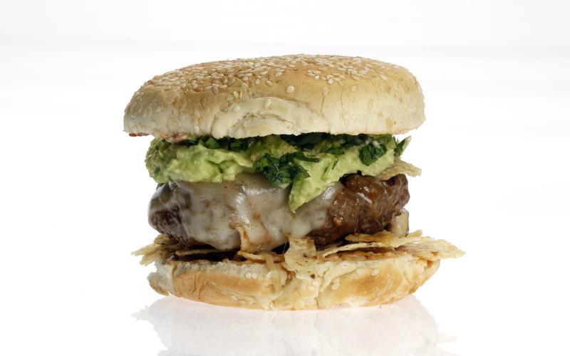 Mexican cemita burger